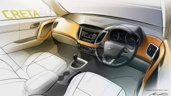 Hyundai Creta - interiør