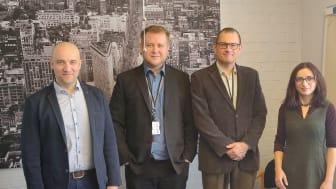 Frank Österlund (Senior Planning Officer MIGRI), Leo Hämäläinen (Information Security Planner MIGRI), Kaj Välimäki (Data Protection Officer MIGRI), Adina Mocanu (Mission Control VERIFIED)