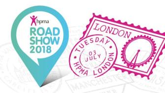 Finegreen exhibiting at the HPMA Roadshow - London