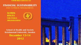 Konferens om den ekonomiska världskrisen