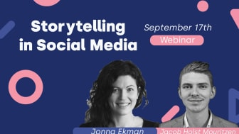 Webinar: The importance of storytelling within social media