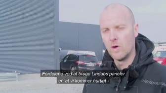 Lindab Sandwichpaneler - case Kia i Odense