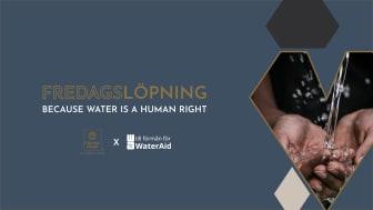 Clarion Hotel Amaranten bjuder in till att springa för rent vatten hela mars!