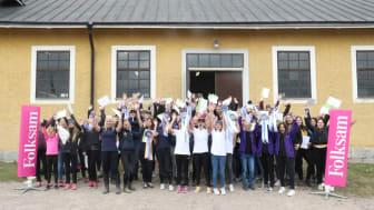41 lag från hela landet tävlade i Folksam Hästkunskap Cup. På lördag 25 februari möts de tre regionvinnande lagen  i en superfinal på EuroHorse i Göteborg.