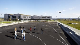 White vinner arkitektur- och stadsutvecklingspris för Bråtejordet skole