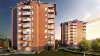 Brf Övre Lövet - 66 nya bostadsrättslägenheter i Övre Lövgärdet