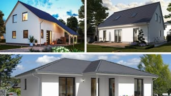 Drei Häuser von Town & Country Haus stehen zur Wahl beim diesjährigen Hausbau-Design-Award.