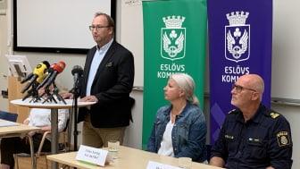 Lugn dag på Källebergsskolan i Eslöv