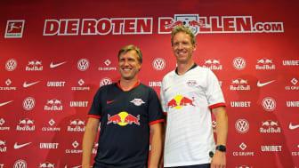 RB Leipzig - Sportdirektor Markus Krösche und Trainer Julian Nagelsmann - Foto: Nathalie Hempel