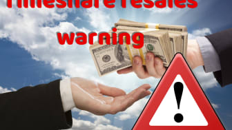 Timeshare resales.  If it sounds too good to be true.... it is.