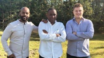 Anni Mowlid (CEO), Thomas Abraham (COO), Alexander Gorobets (CTO)