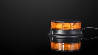 Den slimma designen till trots besitter BriodLights varningsljus en imponerande kapacitet att varna omgivningen med dess starka ljussignal.