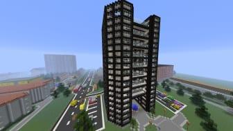 """Jacob Sörmes vinnande bidrag i """"Mina Kvarters pris för bästa Minecraft-modell"""""""