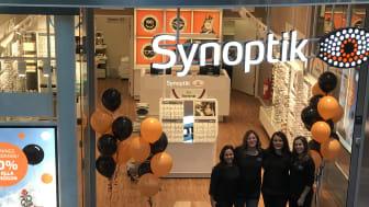 Idag öppnar Synoptik i A6 shoppingcenter i Jönköping.