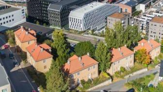 Boligbygg selger nå fem firemannsboliger i Væringskleiva.