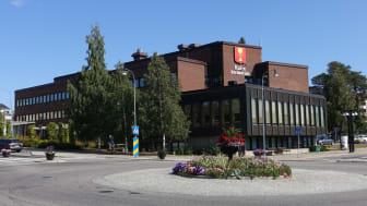 Kommunhuset i Kalix. Source: Wikimedia Commons. Author: FritzDaCat