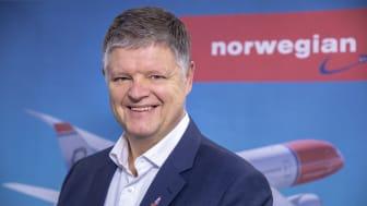 Norwegians konsernsjef Jacob Schram.
