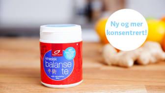 Kinesisk balanse-te med 21 urter