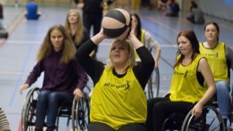 Handikappidrott – viktigt inslag under Funka för livet Karlskrona