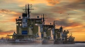 Sjöfartsverkets isbrytarflotta behöver bytas ut. Foto: Daniel Holmgren
