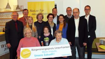 Auftakt des Bürgerenergiepreises Unterfranken 2020 in Himmelstadt