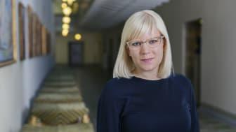 Karin Ernlund (C) gruppledare i Stockholms stad
