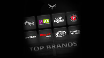 Find world-class workouts in new Top Brands-category in the Intelligent Cycling app