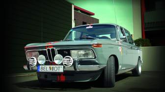 Ausstellungsstück BMW 2000 tii von Volker Hakenes (Foto: Volker Hakenes | Mannheimer Versicherung )