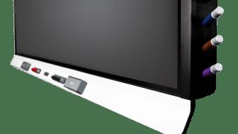 SMART Board 6000S-left-angle-6pens-closeup-3567