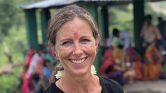 Yasemin Arhan Modéer har varit ledamot i Barnfondens styrelse sedan 2015. I början av september 2018 reste hon till Rajasthan i Indien för att besöka och följa upp projekt som Barnfonden driver.