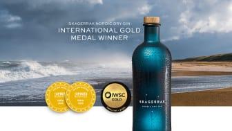 Fler guldmedaljer till Skagerrak Gin