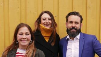 Linda Ljunggren Syding, Erik Scholander, Elisabeth Scholander, foto: Privat.