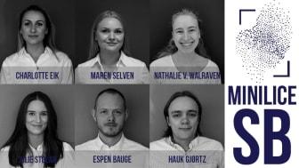 MiniLice SB skaper verdi ved økt fiskevelferd og er norgesmestere i Studentbedrift
