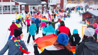 Hattrick för Hemavan Winter Pride!