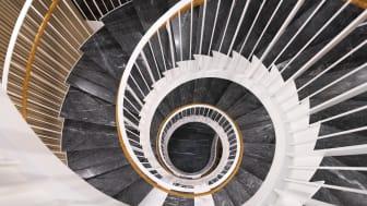 Nybrogatan 17 -  detalj från trappa