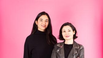Farida al-Albani och Gita Nabavi föreslås leda Feministiskt initiativ in i framtiden. Foto: Oscar Stenberg