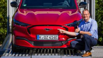 Ford Mustang Mach-E  preproduksjonsbil, Norge, Sommeren 2020