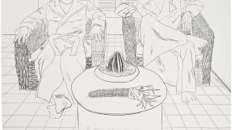 Grafik av David Hockney på Contemporary Art & Design
