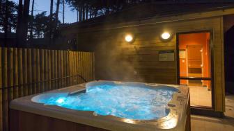 Exclusive Lodge Hot Tub