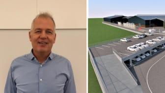 Jan Holck starter den 15. januar som direktør for Bygma København, selvom forretningen først åbner om et lille års tid