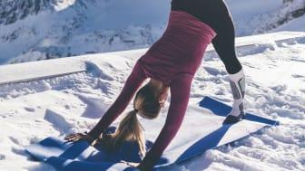 Sunrise Yoga war ein weiteres Highlight des GletscherTestivals