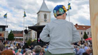 Folkfest på Kungsbacka Torg