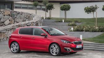 Sverigepremiär nya Peugeot 308