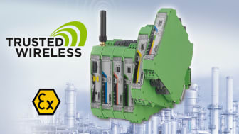 New PT100 expansion module for temperature measurement for Radioline Wireless Systems