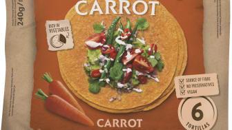 Soft Tortilla Carrot