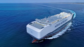 Kongsberg Maritime and MAN Energy Solutions are to deliver a digital package combining the Vessel Insight and PrimeServ Assist applications to four vessels in Höegh Autoliners' Horizon class fleet