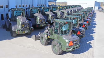 28 nya Volvo hjullastare redo för tjänstgöring
