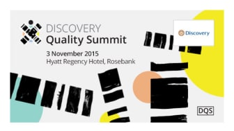 Invitation: Discovery Health Quality Summit 2015