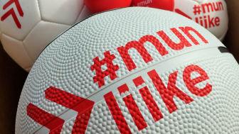 20 000 #MunLiike-palloa kouluille