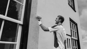 De schilder en de opdrachtgever krijgen zekerheid met Sikkens Gevel Garantie. Vakmanschap gegarandeerd.